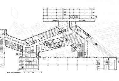 BMW Plant, Central Building - Půdorys přízemí - foto: © Zaha Hadid Architects, London