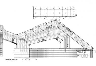 BMW Plant, Central Building - Půdorys 2.NP - foto: © Zaha Hadid Architects, London