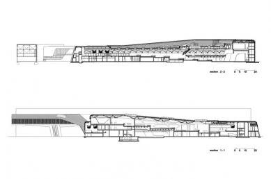 BMW Plant, Central Building - Podélné řezy - foto: © Zaha Hadid Architects, London