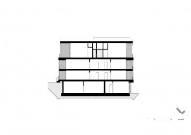 Tee House - Řez