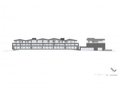 Tee House - Pohled jihozápadní