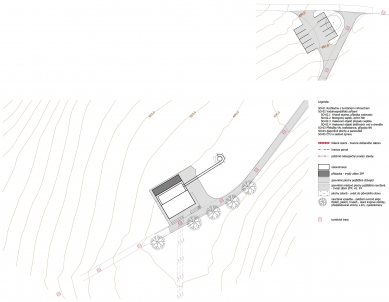 Rozhledna na Šibeníku - Situace - foto: ABM architekti