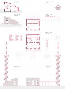 Rozhledna na Šibeníku - Plány - foto: ABM architekti