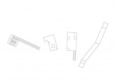 Hlídka na Stráži - Půdorysy - foto: Mjölk architekti