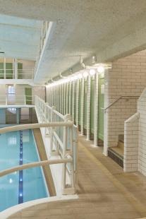 Bytový dům s bazénem - foto: Chatillon Architectes