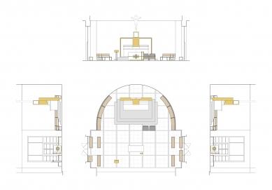 Návrh úpravy liturgického prostoru kostela sv.Augustina v Brně
