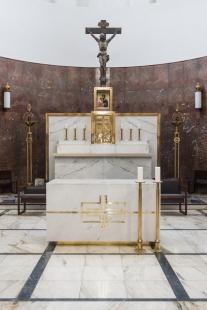 Návrh úpravy liturgického prostoru kostela sv.Augustina v Brně - foto: Bořivoj Čapák