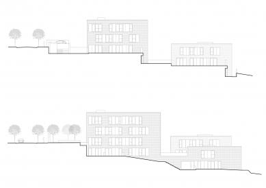 Čtyři domy v jednom - Pohledy severozápadní