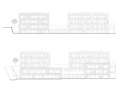 Čtyři domy v jednom - Pohledy jihozápadní