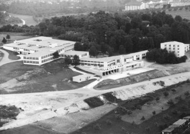 Vysoká škola designu v Ulmu - Historický snímek