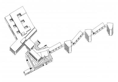 Vysoká škola designu v Ulmu - Axonometrie