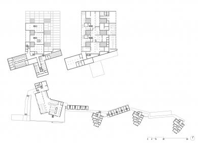 Vysoká škola designu v Ulmu - Půdorysy