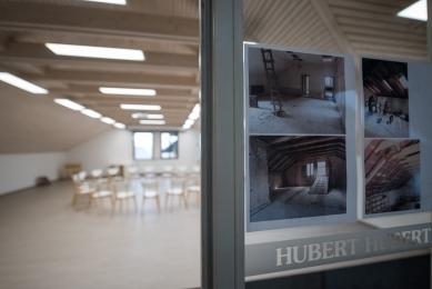 "Rekonstrukce objektu ""HUBERT"" vareálu zámku vHukvaldech - foto: © Dominik David"