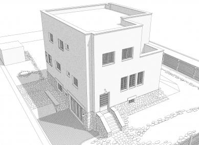 Obnova Müllerovy vily vOlomouci - Počítačová vizualizace - foto: Sborwitz Architekti