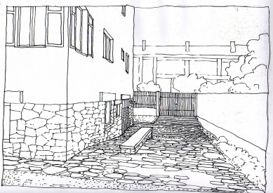 Obnova Müllerovy vily vOlomouci - Kresba - foto: Sborwitz Architekti