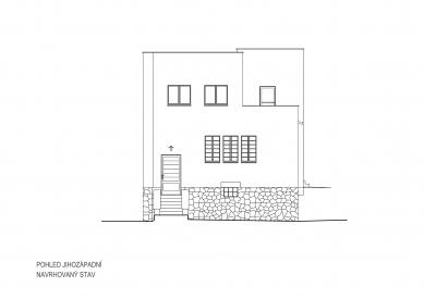 Obnova Müllerovy vily vOlomouci - Jihozápadní pohled - foto: Sborwitz Architekti