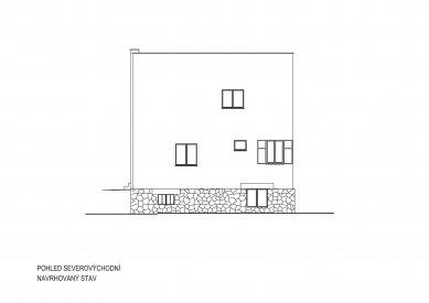 Obnova Müllerovy vily vOlomouci - Severovýchodní pohled - foto: Sborwitz Architekti