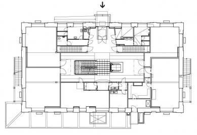 Rekonstrukce bývalé kotelny na administrativní budovu - Přízemí - současný stav - foto: Atelier ANTA