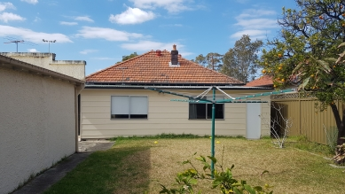 Offset House - Původní stav