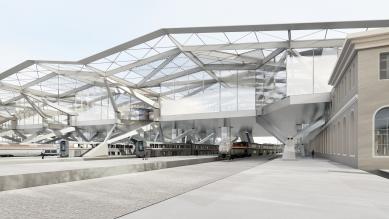 Vilnius Railway Station Complex, Central Station Square and Public Transport Terminal