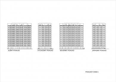 Obytný súbor Urban Residence - foto: Compass architekti