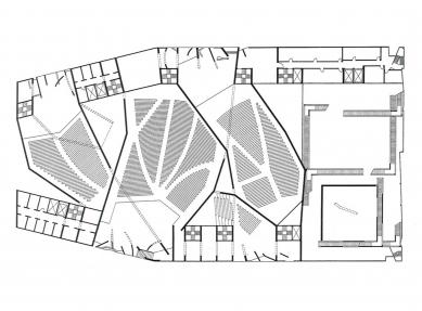 Projekt filmového paláce - foto: Steven Holl Architects