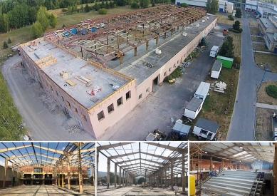 Střední průmyslová škola TOS Varnsdorf - Stavba