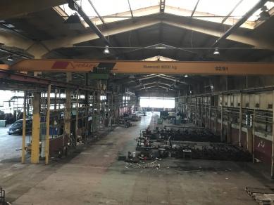 Střední průmyslová škola TOS Varnsdorf - Původní stav