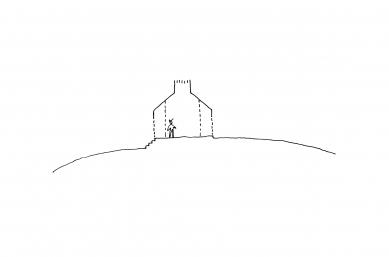 Chimney House - Skica