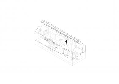 Chimney House - Axonometrie