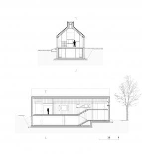 Chimney House - Řezy