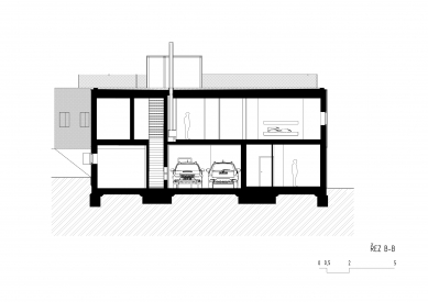 Lazy House - Řez