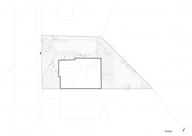 Vila Trojúhelník - Situace - foto: studio AEIOU