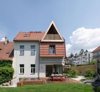 Vila Trojúhelník - foto: Martin Zeman
