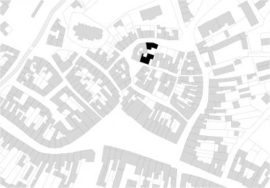 Dům na Kozině - Situace širších vztahů