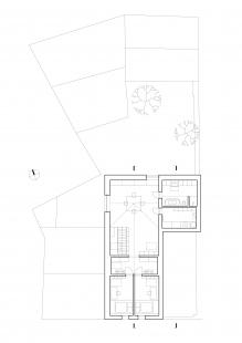 Dům na Kozině - Půdorys 2NP