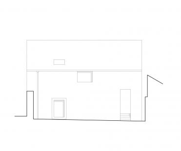 Dům na Kozině - Pohled severní
