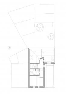 Dům na Kozině - Půdorys 2NP - původní stav