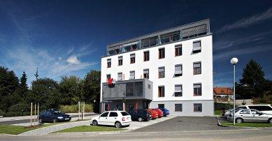 Sídlo společnosti K4 a.s. - foto: Štěpán Vrzala