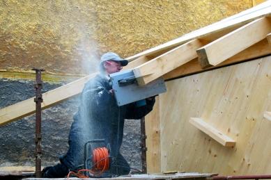 Dřevěný dům pod Červenou roklí - foto: Archiv atelieru KLANC