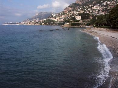 Le Cabanon  - Mořský záliv, kde se 27. srpna 1965 zastavilo LC srdce. - foto: Petr Šmídek, 2006