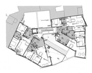 Social Housing Sant Agustí Vell - Půdorys 4.np