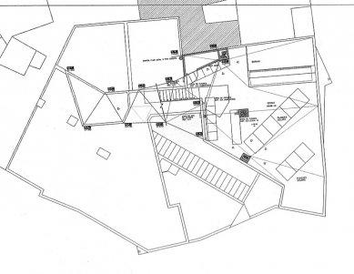 Social Housing Sant Agustí Vell - Výkres střechy