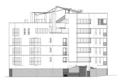 Social Housing Sant Agustí Vell - Fasáda Serra Xic