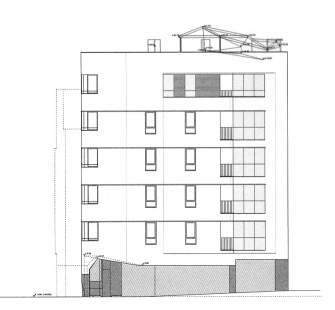 Social Housing Sant Agustí Vell - Fasáda Por de la Figuera