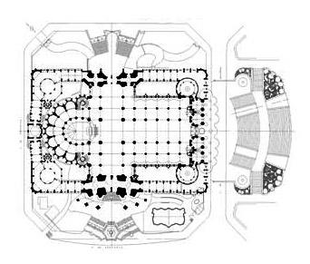La Sagrada Família - Půdorys