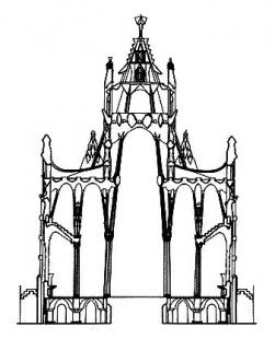 La Sagrada Família - Řez