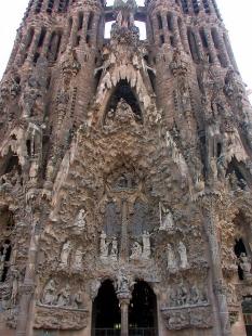La Sagrada Família - foto: Petr Šmídek, 2006