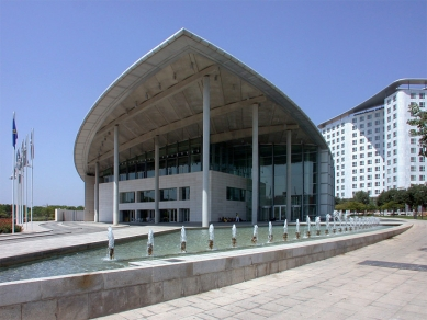 Valencia Congress Centre - foto: Petr Šmídek, 2006