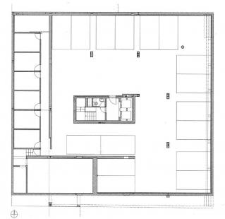 Bytový dům Teatro - Suterén - foto: Souto Moura Arquitectos S.A.
